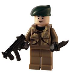Camo - Commando - Custom Lego Figure