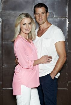 Matt and Lauren Turner played by Josef Brown and Kate Kendall. #neighbours #thecast #turnerfamily