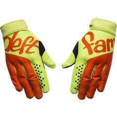 Deft 2017 Catalyst 5 Aura Green/Orange Gloves - Deft Family