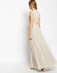 Ecote lily lace maxi dress