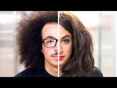 Watch the entire hilarious transformation as the men are subjected to the gorgeous torture of women's makeup: | Men Try Women's Makeup For The First Time