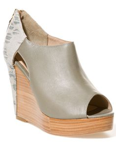 I seriously need to learn how to make shoes... - rebecca minkoff leather wedge bootie