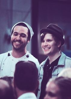 Pete Wentz and Patric Stump FALLOUTBOY