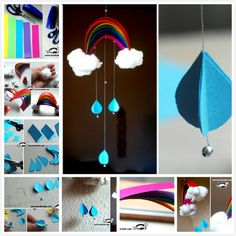 How to DIY Indoor Rainbow Wind-chime