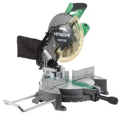 Hitachi C10FCE2 15-Amp 10-inch Single Bevel Compound Miter Saw - Power Miter Saws - Amazon.com