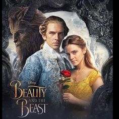 "Dan Stevens(Beast) & Emma Watson(Belle) ""Beauty and the Beast"" Bella Disney, Disney Dream, Disney Love, Disney Magic, Beauty And The Beast Movie, Beauty And The Best, High School Musical, Disney And Dreamworks, Disney Pixar"