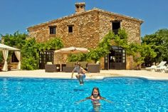 Dreamy child friendly finca on the Costa Blanca has a safe enclosed pool and sleeps 8 from the family friendly villa company www.totstotravel.co.uk