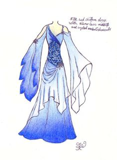 Out-of-this-world fashion for Futura. (Winter's Ice by EllaNyx on deviantART)
