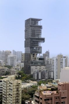 Antilia Mumbai - Most expensive house in the world