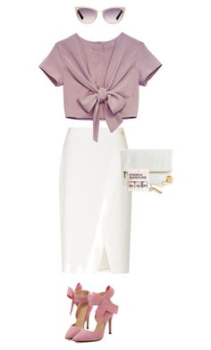 """""""bow vector"""" by kuwtk ❤ liked on Polyvore featuring Reiss, Armani Exchange, Tom Ford, DANNIJO, H&M, women's clothing, women, female, woman and misses"""