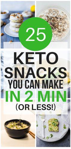25 Genius Quick & Easy 2-Minute Keto Snack Ideas - Olivia Wyles