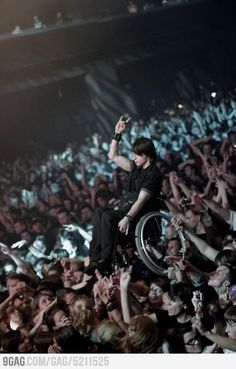 Korn concert in Moscow. Faith in humanity restored again.