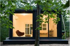 This is a Shipping Container home!!