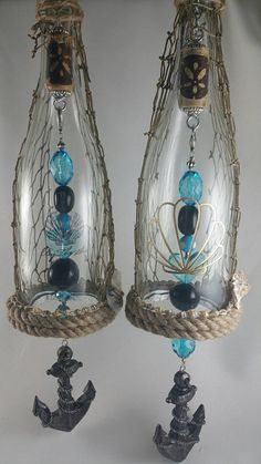 Hello and thank you for visiting my shop!!! I make unique, hand crafted items from wine bottles. This wind chime is made from a clear wine