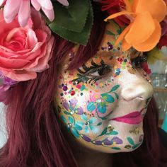 Body Painting Artists, Body Painting Festival, Best Makeup Products, Make Up, Bodypaint, Painted Faces, Om, Steampunk, Glitter