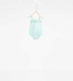 Embroidered romper suit-DRESSES AND ROMPER SUITS-MINI | 0-12 months-KIDS | ZARA United States