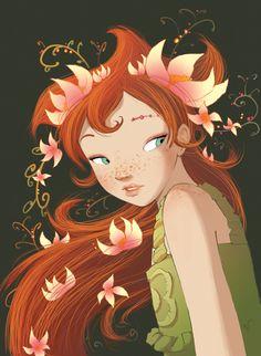 """Fairy Oak-Vanilla Periwinkle. Baunilha ou Babu. No livro """"Fairy Oak O segredo das gémeas"""", o 1º da série da autoria de Elesabetta Gnone."""