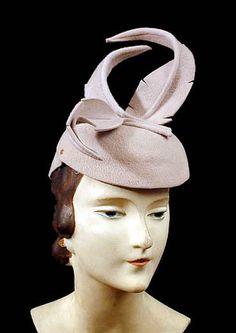 felt hat with felt feathers e57b1a95658b