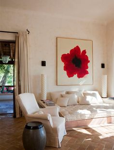 Relaxing space in Ibiza