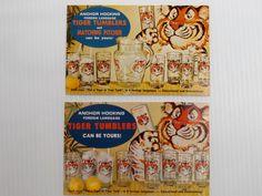 Vintage Advertising Postcards  Mid Century Eames by theoldmilkbarn