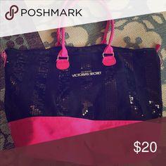 Victoria secret tote Large tote Victoria's Secret Bags Totes
