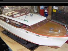 Chris Craft Constellation Rc Boat Kit