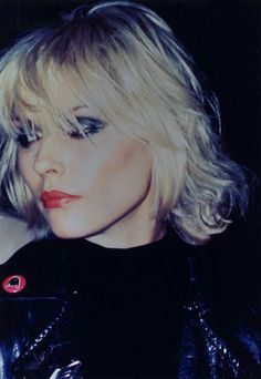Debbie Harry rocks this beach curl mid length style. see Andrew @ Redhed 02074368099