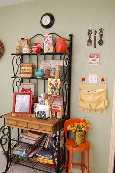 Decorative bakers rack...
