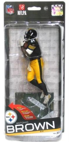 McFarlane Toys NFL Series 37 Antonio Brown Action Figure 2day Delivery for  sale online  671bf4643