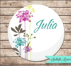 Baby Shower Favor Custom Compact or Pocket Mirror by SpotlightMirrors, $4.99