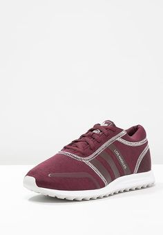adidas Originals LOS ANGELES - Sneakers laag - maroon/white - Zalando.nl