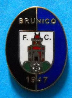 DISTINTIVO SPILLA PIN - F.C. BRUNICO CALCIO - cod. 682