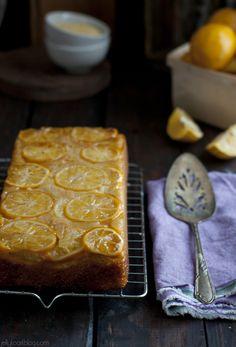 Meyer Lemon Cornmeal Quick Bread.