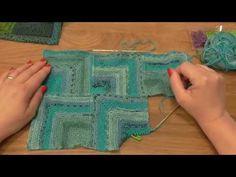 Modulové pletení - spojování čtverců 1. - knitting squares - YouTube Knitting Squares, Knitting Patterns, Knitting Videos, Fingerless Gloves, Arm Warmers, Crochet, Charity, Youtube, Scrappy Quilts