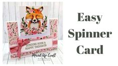Easy Spinner Cards Craft Stash, Craft Work, Swing Card, Spinner Card, Interactive Cards, We R Memory Keepers, Heidi Swapp, Card Tutorials, Card Tags