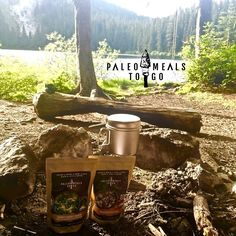 Nothing could be finer!  Paleo Meals To Go, premium backpacking meals. #lake #camping #campfire #backpacking #gear #REI #moosejaw #jax #Food
