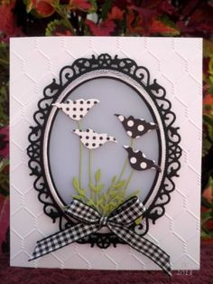 Sisters by mother's daughter - Cards and Paper Crafts at Splitcoaststampers by marcy Memory Box Cards, Poppy Cards, Spellbinders Cards, Embossed Cards, Sympathy Cards, Card Tags, Flower Cards, Greeting Cards Handmade, Diy Cards