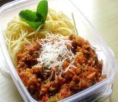 Recepty do krabičky: Falešné boloňské špagety   Žij zdravě