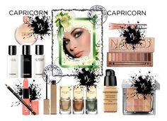 """""""Capricorn"""" by kmaryk ❤ liked on Polyvore featuring beauty, Rossetto, Michael Kors, Amanda Wakeley, Givenchy, Clarins, Bobbi Brown Cosmetics, Urban Decay, Chanel and Witchery"""
