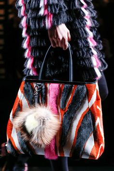 Fendi - Love everything about this, funky, furry, fabulous!