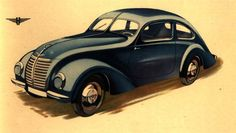 """The Hanomag """"1,3 Liter"""", Germany 1939  This German company was producing cars as early as the 1920s but they struggled financially through that decade. In 1931, Hanomag had 25% of the small-car market in Germany, trailed by DKW (19%) and BMW (17%). The following year they gambled on concentrating on a single series–the 1.1 Liter (later re-named Garant). The gamble worked, and soon it was necessary to run the plant two-shifts to meet the demand."""