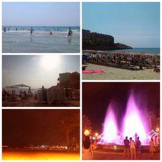 Las mejores #vacaciones se disfrutan de noche y de día, como hacen Patricia y sus amigas en #Salou