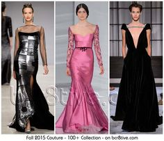 The Best Haute Couture Fashion of Fall 2015-16 ------- 100+ Designs