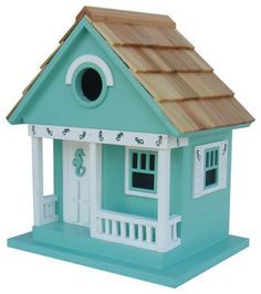 96 Best Painted Birdhouse Ideas Images On Pinterest