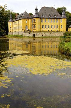 Castle Dyck - Rubbelrath, North Rhine-Westphalia, Germany