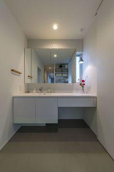 Corner Desk, Bathroom, Interior, House, Furniture, Home Decor, Doors, Corner Table, Washroom