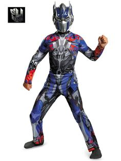 Check out Boys Transformers Optimus Prime Classic Costume - TV & Movie Boys Costumes from Wholesale Halloween Costumes