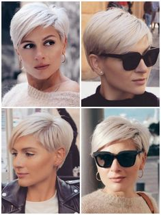 Short Choppy Hair, Short Thin Hair, Short Hair Cuts, Short Hair Styles, Hairstyles With Glasses, Cute Hairstyles For Short Hair, Good Hair Day, Love Hair, Hair Today Gone Tomorrow