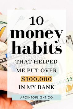 The key to building wealth & getting rich is having smart money habits. These 10 essential money habits will help you grow your bank balance and get rich.