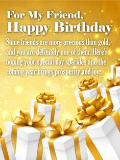 Birthday Wishes For Friend Birthday Wishes Pinterest Happy